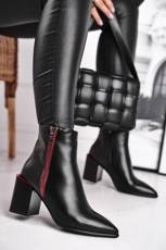 Women's Boots Decorated Post Black Lippi