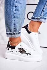 Women's Sport Shoes Sneakers With Fly White Amour